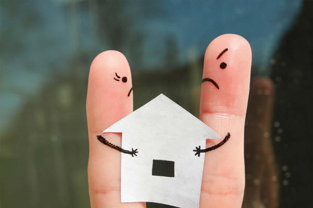 Wie entscheiden wir, wer in der Immobilie bleibt?