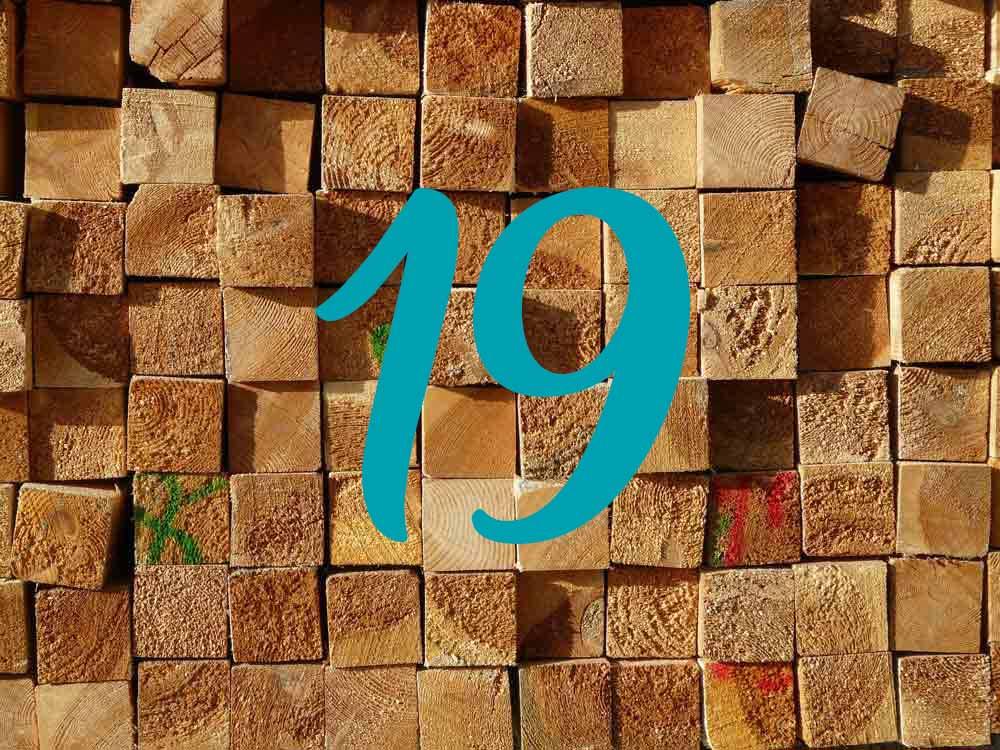 Zahl des Monats Mai: 19 Stockwerke